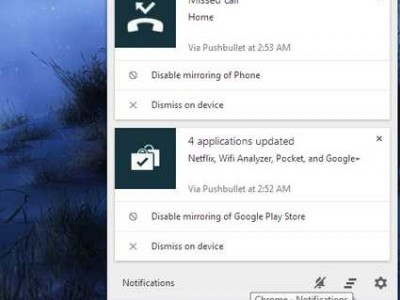 Notifiche Android sul tuo PC Desktop