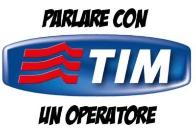 Parlare con operatore TIM